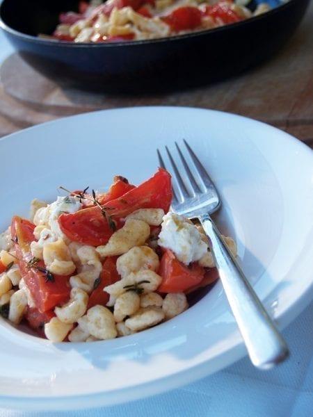 שפצ'לה עם עגבניות קונפי