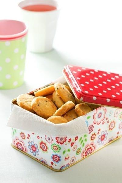 עוגיות מלחות - חרדל וגבינה