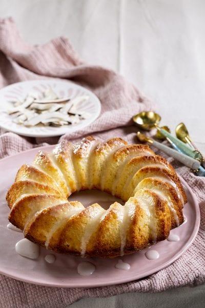 עוגת קוקוס ויוגורט
