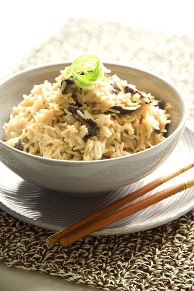 אורז עם פטריות שיטקי