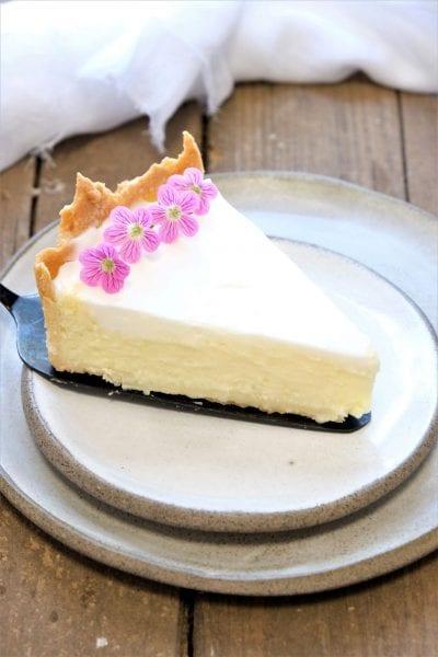 עוגת גבינה ללא הקצפה