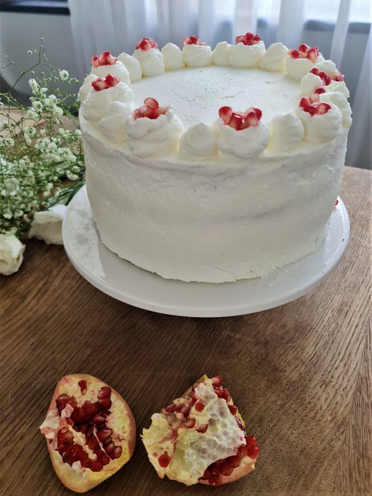 עוגת גזר ודבש מפוארת